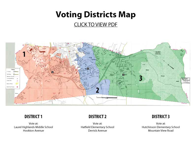 sut voting map letter